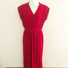 Vintage Jody T for California Womens Red Dress