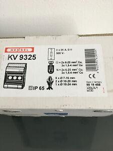 Hensel Kabelverteiler KV9325, IP65, 3x25A, 2 Stück