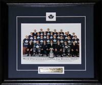 1967 Toronto Maple Leafs Stanley Cup 8x10 NHL Hockey Memorabilia Collector Frame