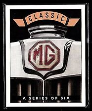 CLASSIC MG - Collectors Card Set - MGA MGB MGC TF Midget & Magnette illustrated