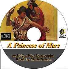 A Princess of Mars, by Edgar Rice Burroughs mp3 audio CD - John Carter