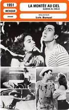 FICHE CINEMA : LA MONTEE AU CIEL - Prado,Márquez,Bunuel 1951 Mexican Bus Ride