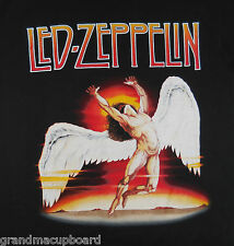 LED ZEPPELIN IV ICARUS SWAN SONG LABEL WINGED MAN ZOSO T-Shirt Adult Small NWOT