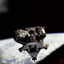 Photo Nasa - Apollo 9 - Module spatial LM-3 Spider - planète Terre