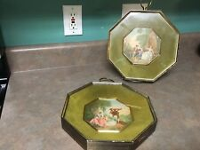 Set of 2 WALL HANGING Picture Shadow Boxes Frame Turner Wall Accessory