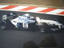Photo HP Williams BMW F1 FW24 2002 #6 Juan Pablo Montoya (COL) Spa #4