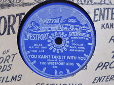 THE WESTPORT KIDS (78 rpm) WESTPORT 130 - ROCKABILLY /  COUNTRY 78