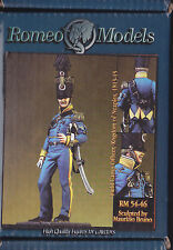 ROMEO MODELS - RM54046 - 54mm FIELD CAMP OFFICER KINGDOM OF NEAPLES 1813-15
