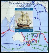 Mali 2018 MNH Captain James Cook 1v IMPF M/S Ships Boats Exploration Stamps