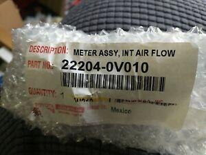 Genuine Toyota Mass Air Flow Sensor 22204-0V010