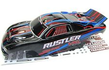 RUSTLER VXL Painted RED BODY shell (Cover ProGraphix trimmed rtr Traxxas 3707