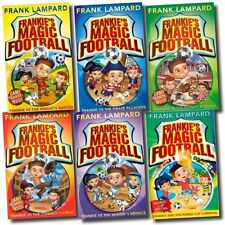 Frankies Magic Football Series 1-6 Books Collection Set by Frank Lampard