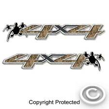 4x4 Camouflage Duck Hunting Truck Decal Sticker compatible with Silverado Sierra