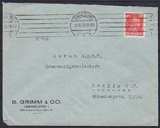 Dr im nº 391 EF empresas carta con mas hamburgo-berlín Osram GmbH 09.11.1928