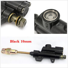 Motorcycle 330mm Black Metal Steering Damper 6 way Adjust Stabilizer Universal