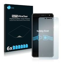6x Savvies Screen Protector for DOOGEE X7 Pro Ultra Clear