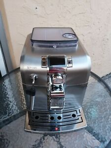 Saeco Syntia HD8837 Super Automatic Espresso Machine - Stainless Steel