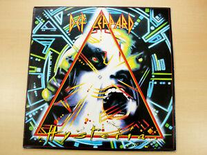 EX/EX !! Def Leppard/Hysteria/1987 Bludgeon Riffola LP