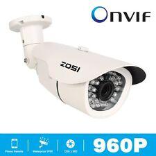 ZOSI 960P 1.3MP Onvif CCTV IP Camera 36 IR Leds Outdoor Waterproof 3.6mm Bullet