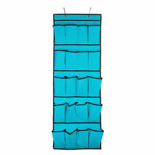 Solutions de rangement bleues en tissu pour la maison