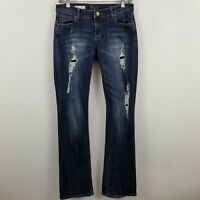 Silver Suki Women's Boot Cut Medium Wash Blue Jeans Size 28 x 30