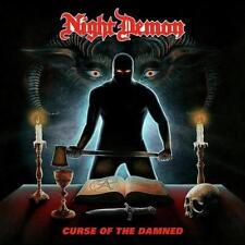NIGHT DEMON- Curse Of The Damned CD us metal meets NWoBHM on tour with ACCEPT