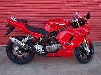 R&G RACING Crash Protectors, Hyosung GT125R & GT250R *BLACK*