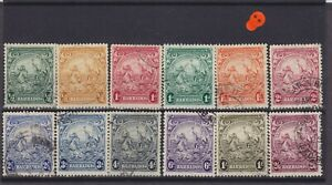Barbados KGVI 1938 Used Collection