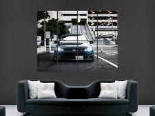 HONDA CIVIC SI BLACK CAR CLASSIC FAST WALL POSTER ART PICTURE PRINT LARGE  HUGE