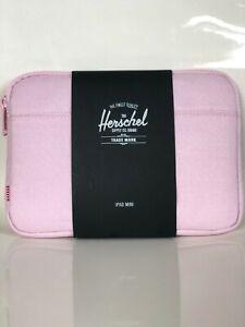 "Herschel Supply Co. Anchor Case iPad Mini 2/4 Pink LADYX 5.78"" x 8.58""  NWT"