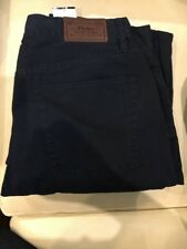 Navy Blue Polo Ralph Lauren Designer Chinos Trousers