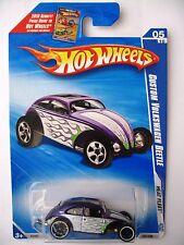 Hot Wheels CUSTOM VOLKSWAGEN BEETLE -Purple variant 2009 Heat Fleet 05/10 vw bub
