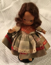 Nancy Ann Storybook Doll Around The World French Bisque Pudgy Tummy Tag