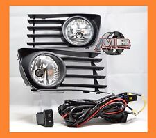 MBA 2004-2009 Toyota Prius Fog Lights Clear Lens Front Bumper Lamps COMPLETE KIT