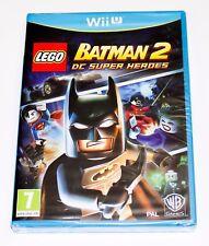 LEGO BATMAN 2 DC SUPER HEROES - NINTENDO WII U WIIU PAL ESPAÑA NUEVO PRECINTADO