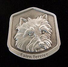 Cairn Terrier Fine Pewter Dog Breed Ornament