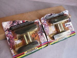 """Two Pair: NOS Ritchey Designs """"World Champion"""" Smooth-Post Cantilever Brake Pads"""