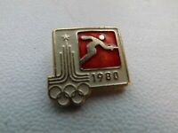 Vintage Soviet Pin Badge Olympics Moscow 1980 Olympic Games,Fencing,USSR