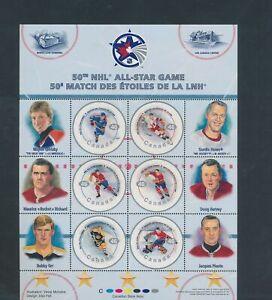 XC91605 Canada NHL all stars hockey sports good sheet MNH