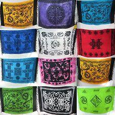 US SELLER-10pcs tribal sarong altar cloth wicca pagan wall hanging bedspread