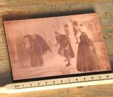 Galvano Druckstock Kupferklischee Druckplatte Drucker imprimerie letterpress