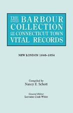 The Barbour Collection of Connecticut Town Vital Records. Volume 29: New London