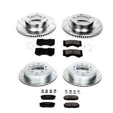 Powerstop K2813 Set of Front/Rear Z23 Evolution Brake Pad/Rotor for 16-18 LX570