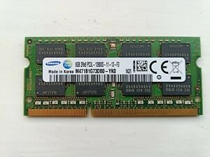1 x 8GB SoDDR3  Samsung PC3L-12800S  Laptop Memory RAM