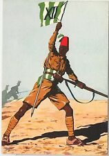 CARTOLINA d'Epoca - REGIMENTALE COLONIALE - XII Battaglione ERITREO