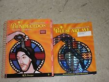 BLEST ARE WE 5th Grade 5 Bilingual PARISH CATECHIST GUIDE +Workbook 2008 Set