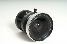 Schneider Super-Angulon 8/90mm Lens in a PERFECT MODERN COPAL SHUTTER
