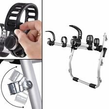 Foldable Aluminum Strap-On 3 Bicycle Bike Rack Carrier