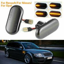 LED Dynamic Side Marker Repeater Indicator Light For Nissan Opel Vivaro Movano