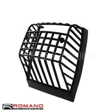 Scooter Motorcycle Rear Taillight Grille Cover Black For Vespa PX ELF 1984-Up